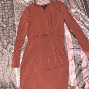 Beautiful maroon colored dress